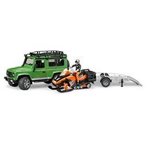 Land Rover Defender W Moto De Nieve Remolque Y Envío Gratis