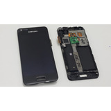 Tela Touch Display Lcd Modulo C/aro I9070 Galaxy S Preto