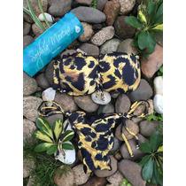 The Jaguar Ripple Bandeau Bikini