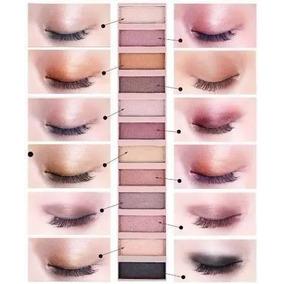 Maquiagem Nakeds 12 Cores Com Espelho
