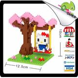 Armable Mini Lego Hello Kitty Juego Regalo Gamer Nuevo Caja