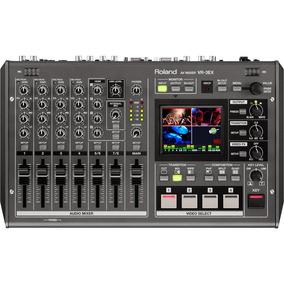 Mixer Av 4 Canais Roland Vr-3ex Mesa De Som E Vídeo Usb