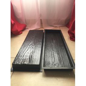 Molde Para Piso Tipo Tabla (madera) Estampado Tablón