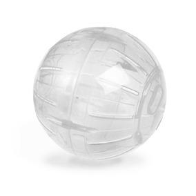 Globo Hamster Ball 12cm Transparente Rodinha Chinês Oferta