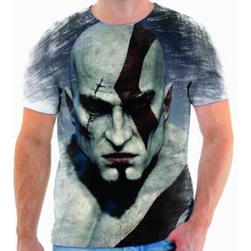 Camiseta Camisa Blusa Game God Of War 03
