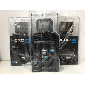 Go Pro Hero 5 Black Lacrada E Garantia De Um Ano
