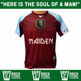Camisa Futebol Iron Maiden Rfc