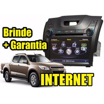 Kit Central Multimidia Nova S10 / Blazer Gps Dvd Cam Tv Gar