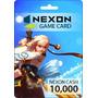 Nexon Game Card - Tarjeta Prepaga - 10,000 Nexon Cash Eu