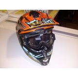 Capacete Nuvo Trilha Enduro Motocross