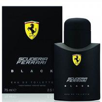 Perfume Scuderia Ferrari Black - 125ml