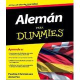 Libro Aleman Para Dummies Digital En Pdf + Audios!!