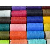 Lote X 10 Hilos Encerado Colores Artesanias Pulseritas 70mt