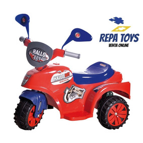 Triciclo A Bateria Hallo Boy 6v Biemme