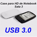 Case Para Hd 2,5 Pc Computador Feasso Externo Sata Usb 3.0