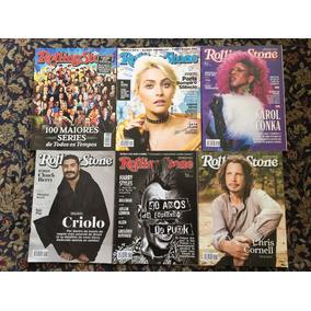 Lote Completo De Revistas Rolling Stones 2017 - 12 Edições