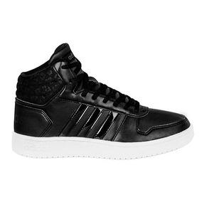 Padrisimos Tenis adidas Originales Tipo Bota En Color Negro