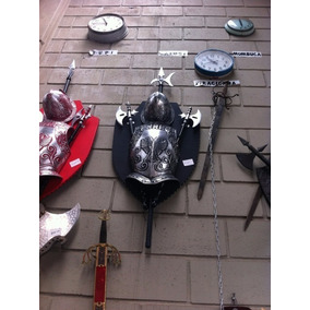 Escudo Medieval Fundido Em Aluminio -
