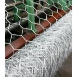 Tela Mangueirão 1,00x50m Fio 18 Porco, Carneiro, Granja,hort