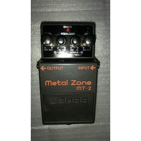 Pedal Boss Metal Zone Modelo Mt-2 Excelentes Condiciones.