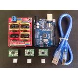 Kit 3gdl Cnc Impresora 3d Arduino Uno R3 Shield Cnc 3 A4988