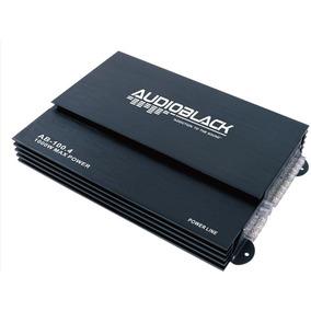 Amplificador Audio Black 4 Canales 1000w Max Power Ab-100.4