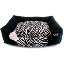 Cama Bichinho Chic Zebra Tamanho P