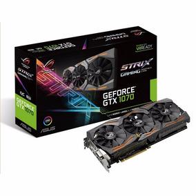 Placa De Video Asus Gtx 1070 Strix Gaming Oc 8gb Gtx1070 8k