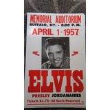 Poster Aviso Elvis Presley The Doord Usa Exclusivos