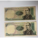 Billete De 20 Bolívares Octubre 20 De 1987
