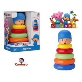Boneco De Argolas Pocoyo - Brinquedos Cardoso
