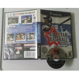 All-star Baseball 2003 - Caja Y Disco / Gamecube - Wii