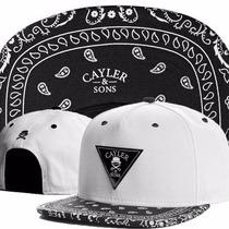 Boné Cayler & Sons Snapback Hip Hop Branco - Pronta Entrega