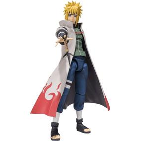 Boneco Minato Articulado Hokage Yondaime - Naruto