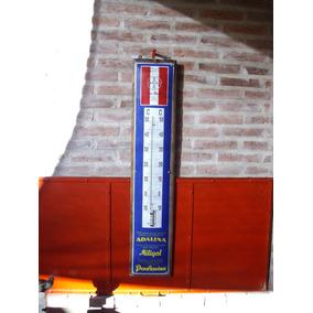 Termometro Antiguo Bayer Excelente Funciona Enlozado