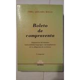Boleto De Compraventa - Emma Adelaida Rocco