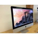 Apple Imac 21.5 Mediados De 2014 Core I5 8ram Intel Hd 5000