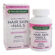 Hair, Skin & Nails 150cápsulas Nature's Bount Importado