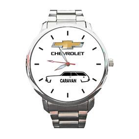 Relógio Logo Chevrolet Caravan Opala Ss Personalizado 1608g