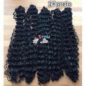 Cabelo Organico Afro, 1# Preto Pode Lavar E Passa Chapinha