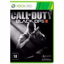 Call Of Duty Black Ops 2 - Xbox 360 Original Novo Lacrado