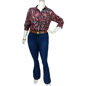 dcbb980c11b899 Calca Jeans Puramania Flare Tamanho Calcas - Calças Feminino no ...