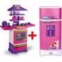 Cozinha Infantil Fogaozinho Master + Super Geladeira Mágica