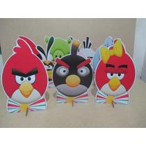 Kit 10 Display Angry Birds,decoração De Mesa,festas