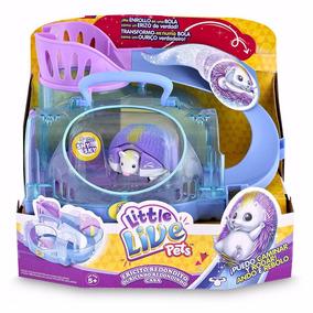 Little Live Pets Erizo Con Casita Original