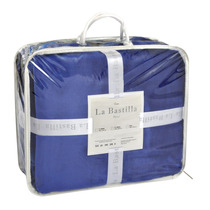 Cover De Flannel Super Soft 2 1/2 Plazas 230 X 250 Cm Azul