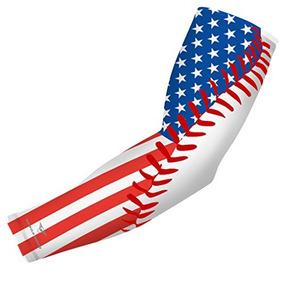 Bandera De Los Estados Unidos Baseball Stitch Sports Compre