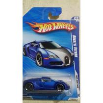 H Web2010 Bugatti Veyron Azul Tarjeta Larga Excelente Pieza