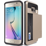 Forro Verus Galaxy S6 Y S6 Edge Tipo Cartera