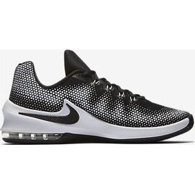 Infuriate Low Max Nike Hombre Mod. 852457, Negro / Gris / Blanco, 46